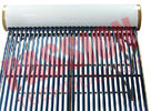 Non Pressurized Thermal Solar Water Heater Vacuum Tube Enamel White Color