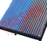 Black Pressurized Thermal Solar Collector Heat Pipe For Swimming Pool