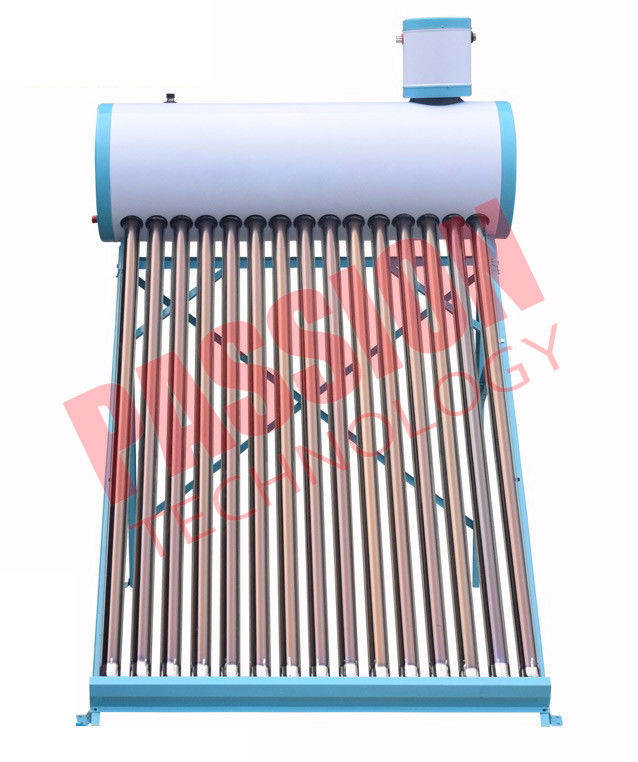 150L Thermosiphon Solar Water Heater Industrial With Coil Heat Exchanger