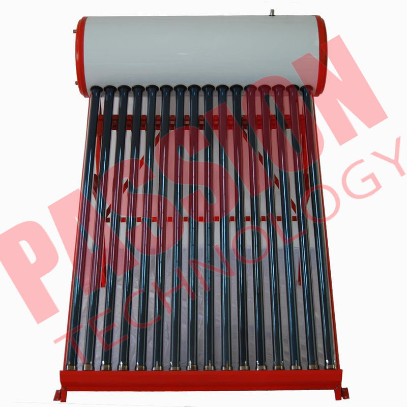 Professional Open Loop Solar Water Heater 200 Liter Aluminum Alloy Frame