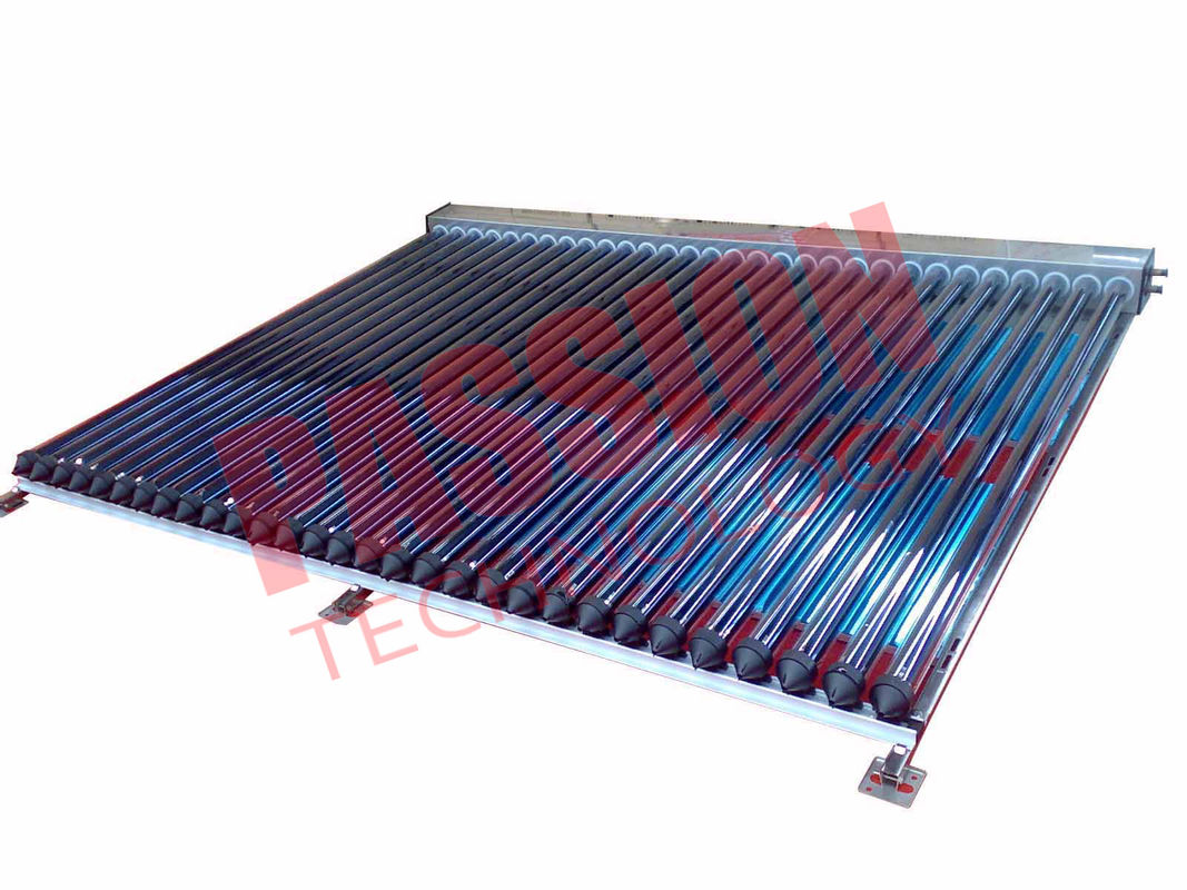 High Efficiency U Pipe Solar Collector Balcony Mounting Stainless Steel Reflector