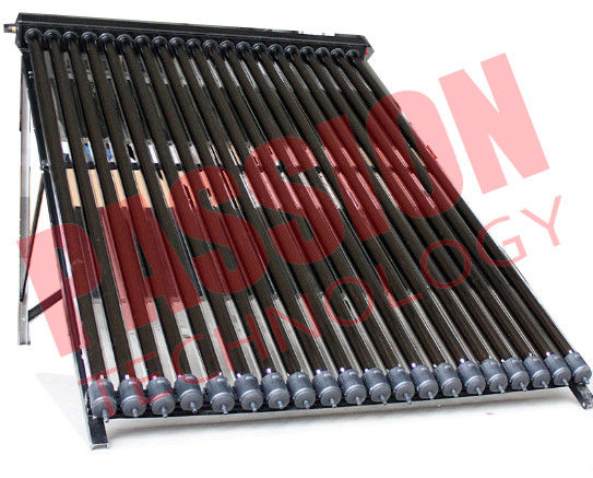 20 Tubes U Pipe Solar Collector For House Black Manifold Wind Resistance