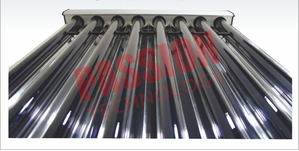 High Performance 10 Tube Solar Collector , U Type Solar Collector Inclined Roof