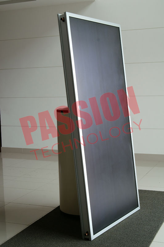 Black Chrome Split Flat Plate Solar Water Heater 150 Liter OEM / ODM Available