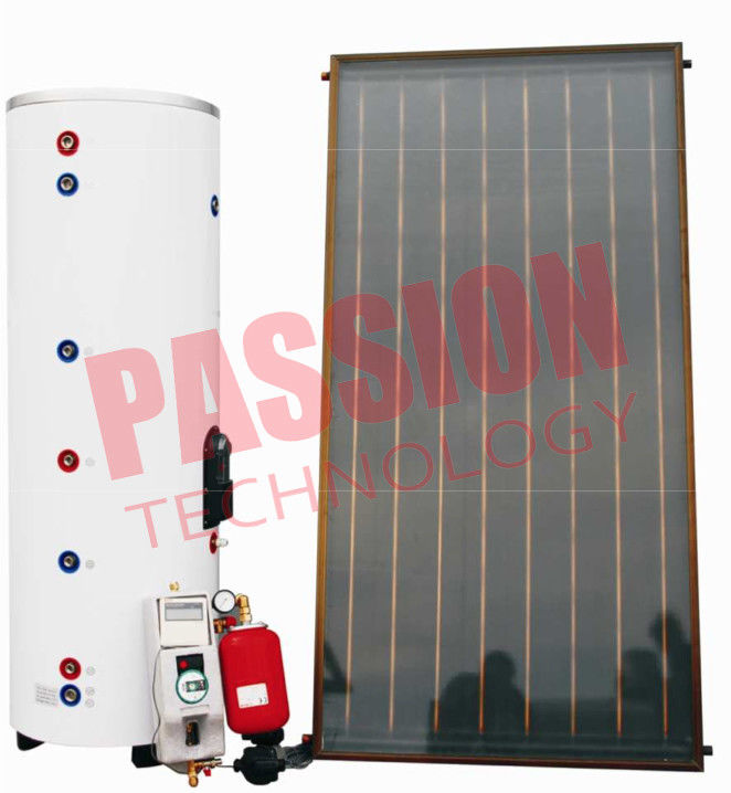 Residential Solar Water Heater 200 Liter , Split System Solar Hot Water