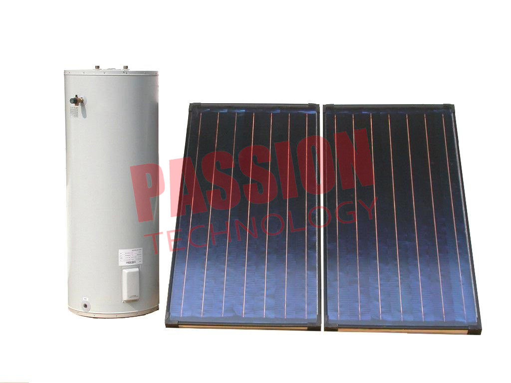 500L Split Solar Water Heater Commercial With Aluminium Alloy Support
