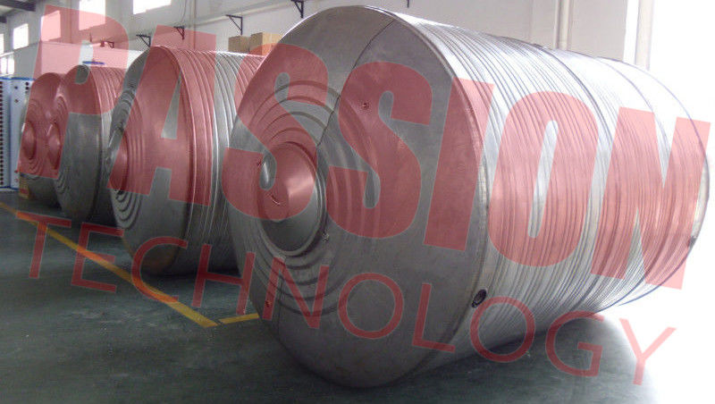 1000 L Thermal Solar Water Heater Tank , Solar Hot Water Tank Vacuum Tube