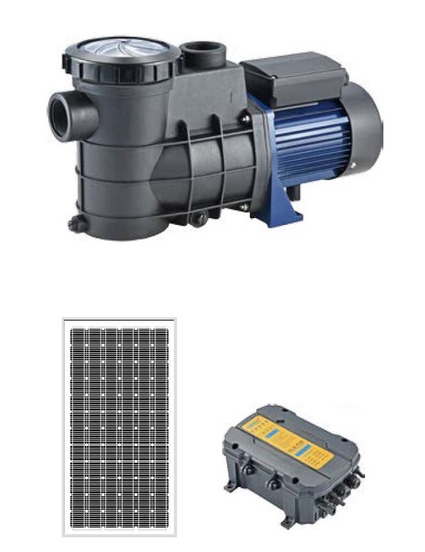 LSP Series DC Brushless Solar Water Pumping System For Swimming Pool